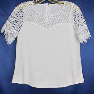 Crochet Sleeves Blouse